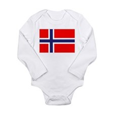 Norway Long Sleeve Infant Bodysuit