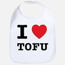 I Heart Tofu Bib