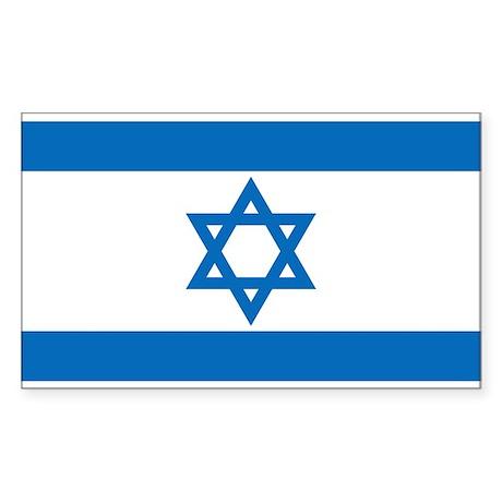 Israel Sticker (Rectangle)