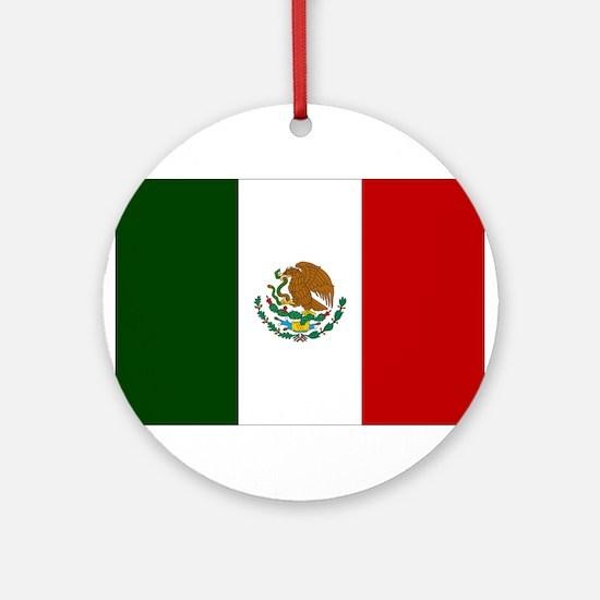Mexico Ornament (Round)