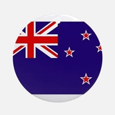 New Zealand Ornament (Round)