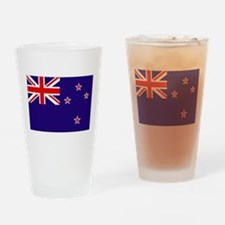 New Zealand Drinking Glass