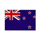 New zealand flag Magnets