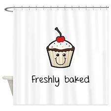 Freshly baked Shower Curtain
