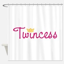 Twincess Shower Curtain