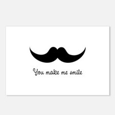 You make me smile Postcards (Package of 8)