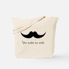 You make me smile Tote Bag