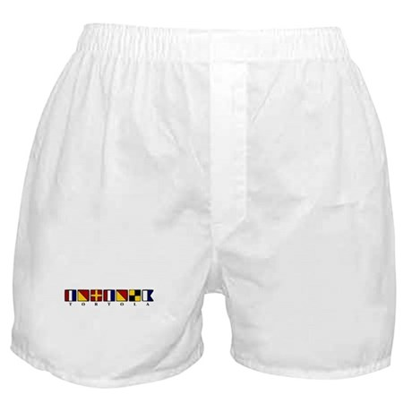 Nautical Tortola Boxer Shorts