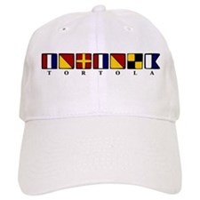 Nautical Tortola Baseball Cap