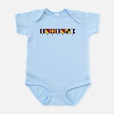 Nautical Tortola Infant Bodysuit