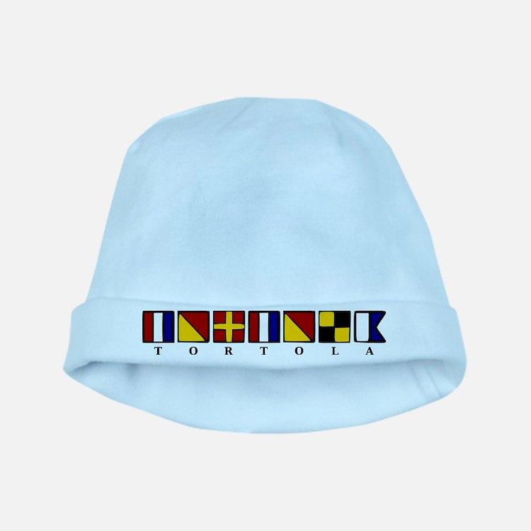 Nautical Tortola baby hat