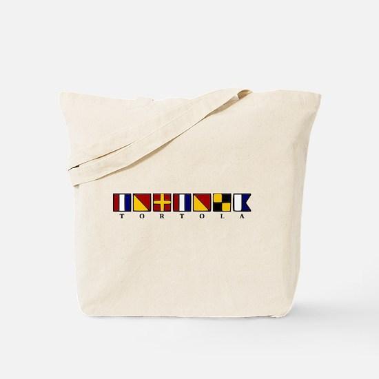 Nautical Tortola Tote Bag