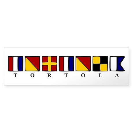 Nautical Tortola Sticker (Bumper)