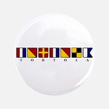 """Nautical Tortola 3.5"""" Button"""