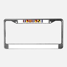 Nautical Tortola License Plate Frame