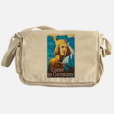 Germany Travel Poster 1 Messenger Bag