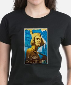 Germany Travel Poster 1 Tee