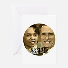 Romney Rice 2012 Greeting Card