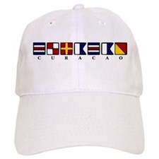 Nautical Curacao Baseball Cap
