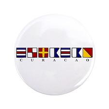 """Nautical Curacao 3.5"""" Button"""