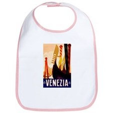 Venice Travel Poster 1 Bib