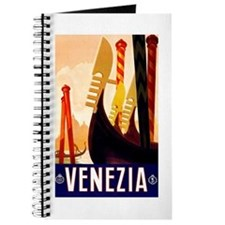 Venice Travel Poster 1 Journal