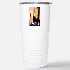 Venice Travel Poster 1 Travel Mug