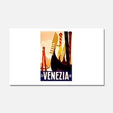 Venice Travel Poster 1 Car Magnet 20 x 12