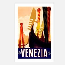 Venice Travel Poster 1 Postcards (Package of 8)