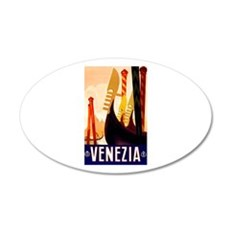 Venice Travel Poster 1 Wall Decal