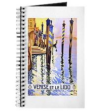 Venice Travel Poster 2 Journal