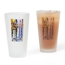 Venice Travel Poster 2 Drinking Glass