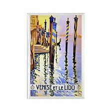 Venice Travel Poster 2 Rectangle Magnet (10 pack)