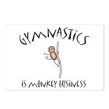 Gymnastics Postcards (Package of 8)