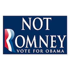 Not Romney Decal
