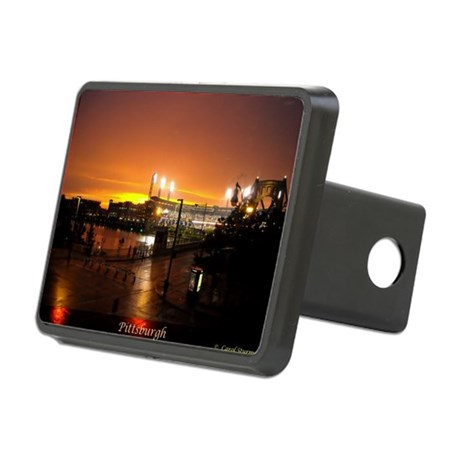 Pittsburgh Sunset Rectangular Hitch Cover