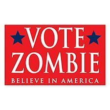 Vote Zombie Sticker 3