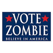 Vote Zombie Sticker 4