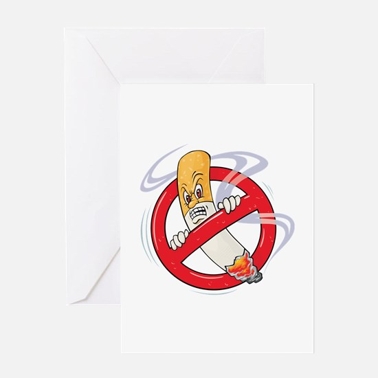 No Smoking Greeting Card