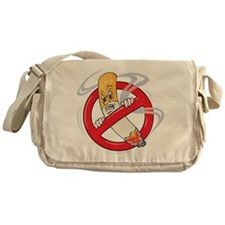 No Smoking Messenger Bag