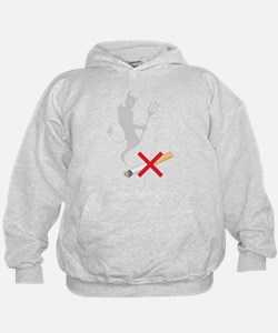 No Smoking Devil Hoodie