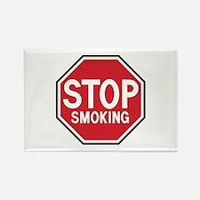 Stop Smoking Rectangle Magnet