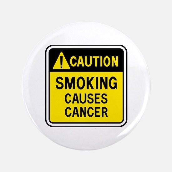 """Smoking Warning 3.5"""" Button"""