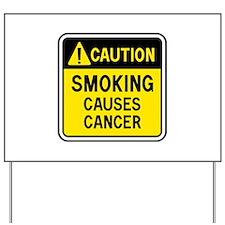 Smoking Warning Yard Sign