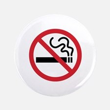 "No Smoking 3.5"" Button"