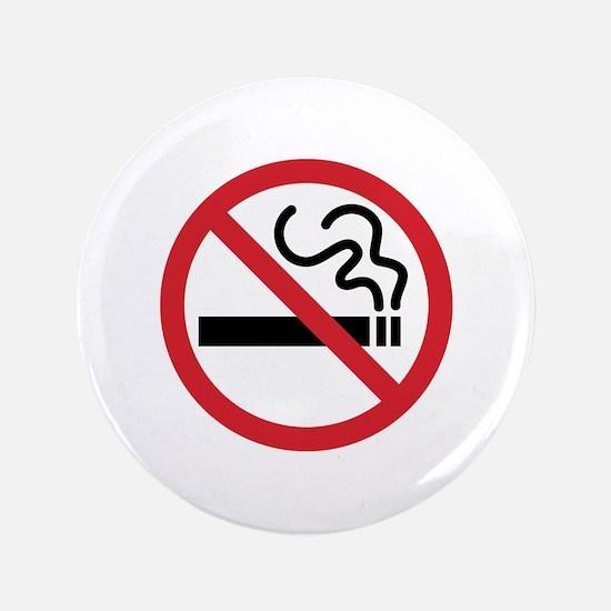 """No Smoking 3.5"""" Button"""