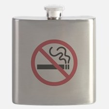 No Smoking Flask
