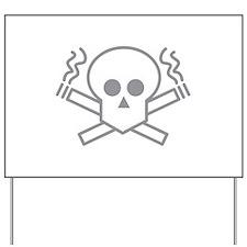 Smoking Kills Yard Sign
