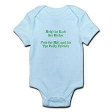 Rich Get Richer - Campaign Humor Infant Bodysuit
