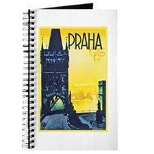 Prague Travel Poster 1 Journal